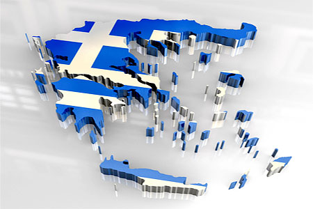 Griechenland (Grafik: Fabrizio Zanier | Dreamstime.com)