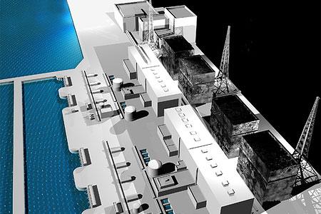 Atomkraftwerk Fukushima 1 (Grafik: Vampy1 | Dreamstime.com)