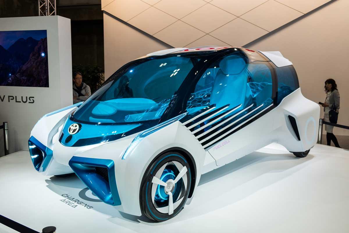 Toyota experimentiert schon länger mit Wasserstoff