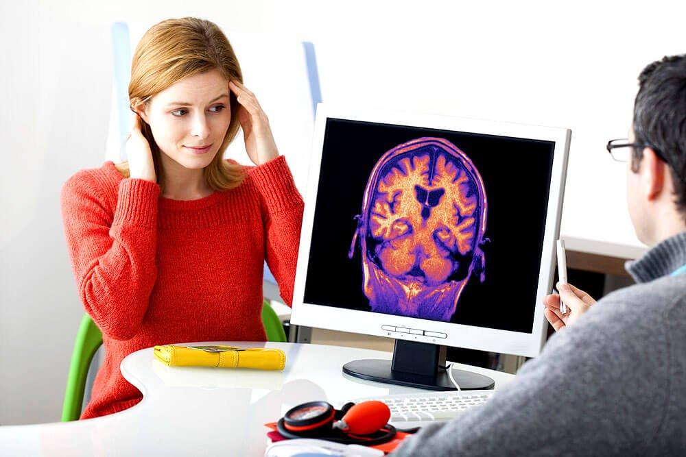 Migräne entsteht im Gehirn