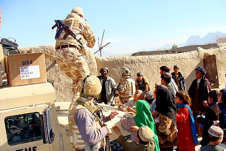 US Truppen in Afghanistan (Foto: Thanatonautii | Dreamstime.com)