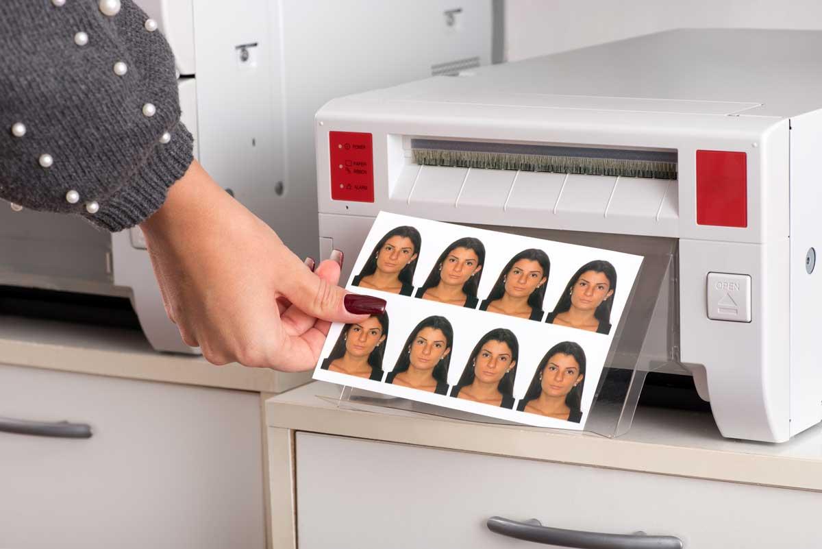 Passfotos selbst drucken