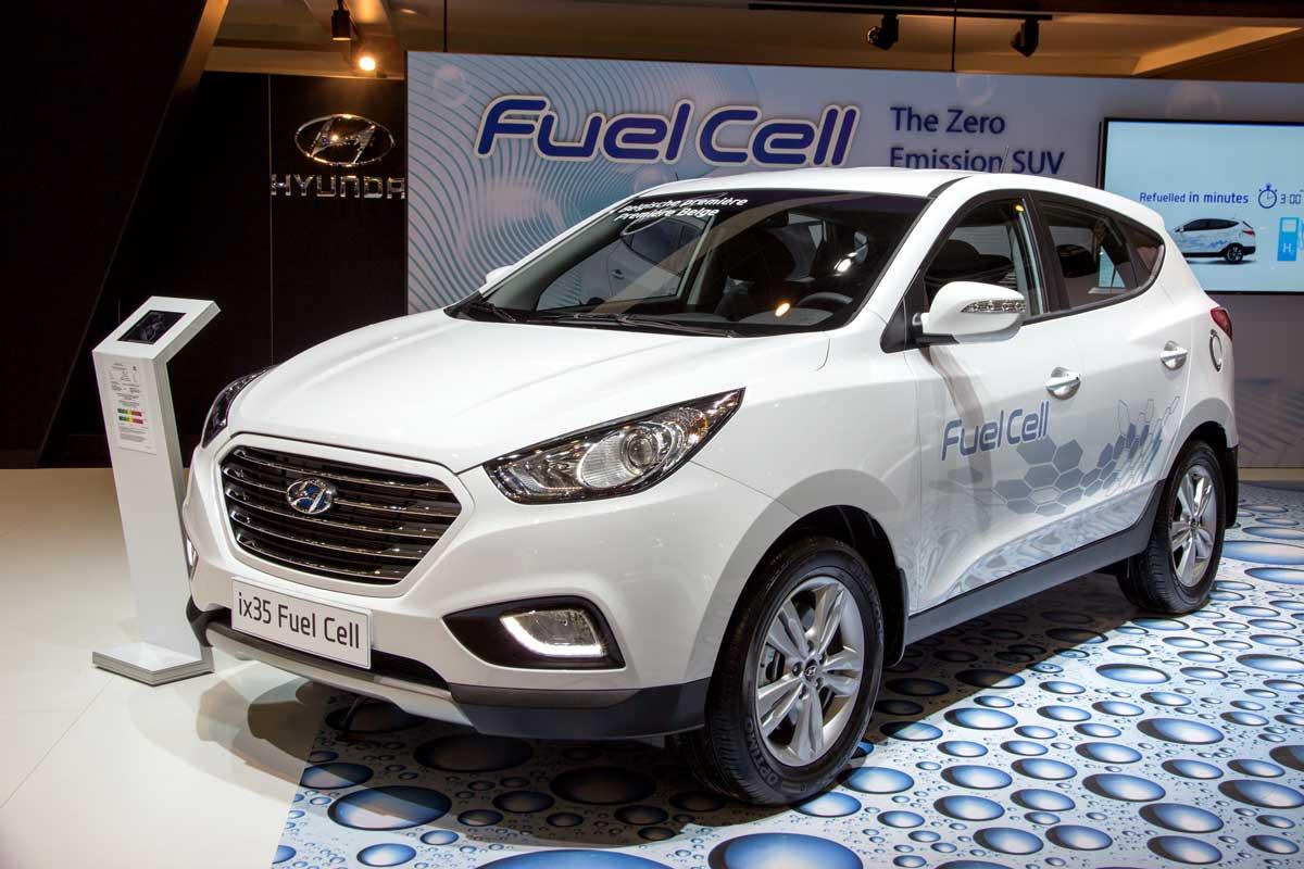 Hyundai mit Brennstoffzelle