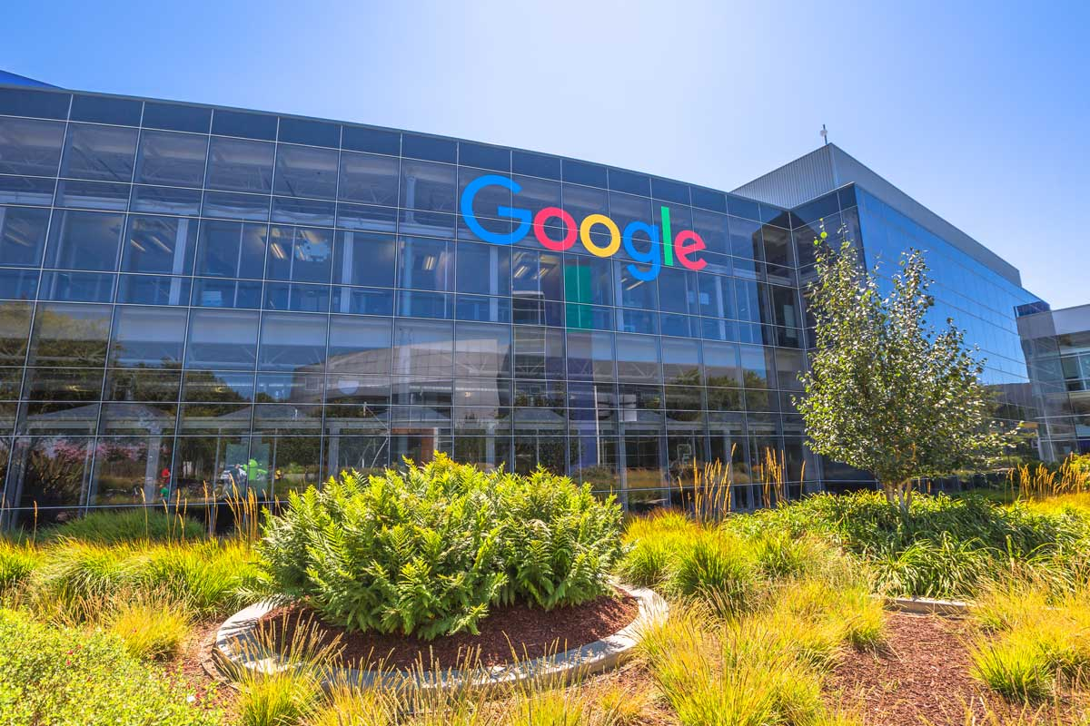 Google-HQ in Mountain View