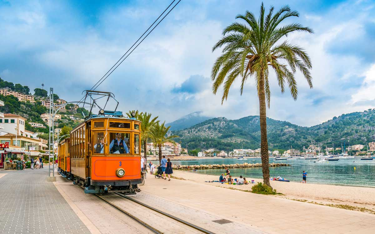 Port De Soller auf Mallorca