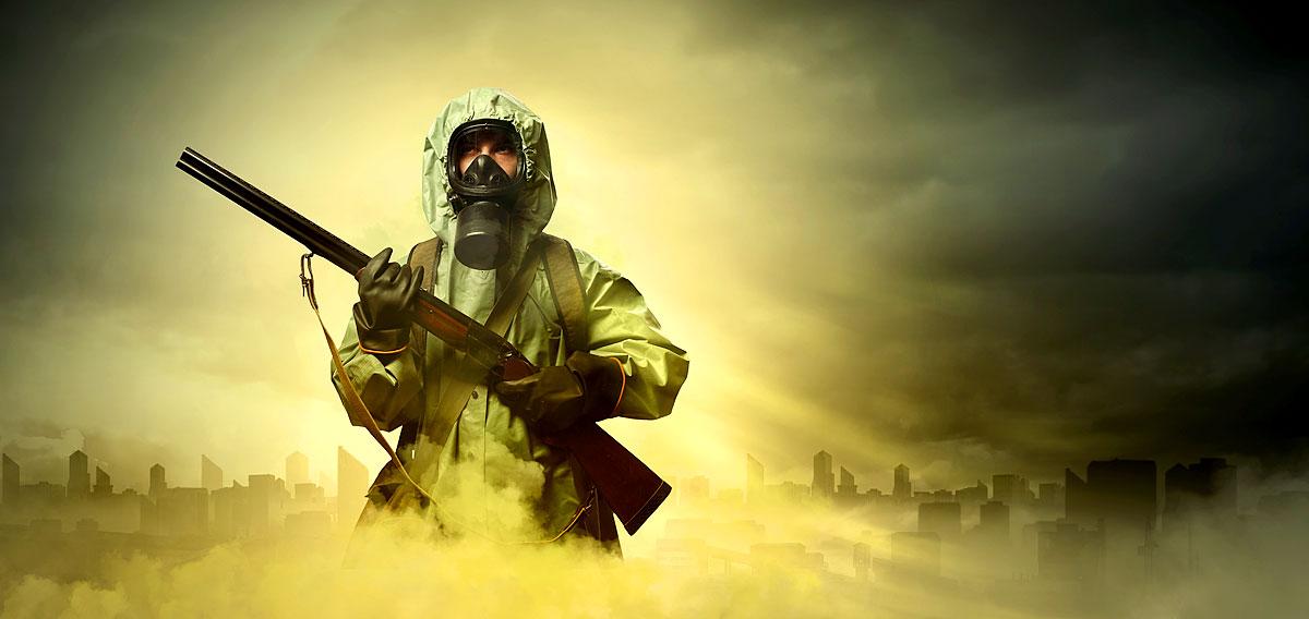 Pandemie Weltuntergang