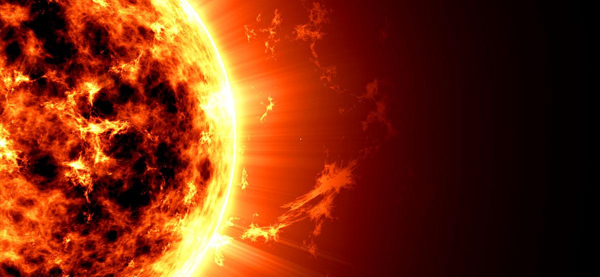 Sonne Weltuntergang