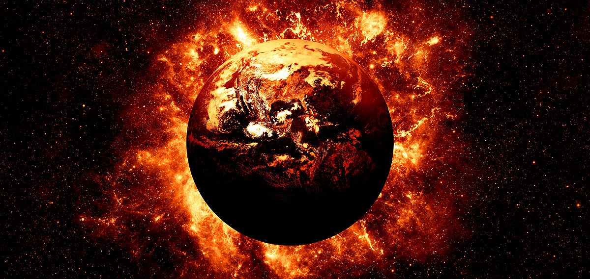 Supernova Weltuntergang