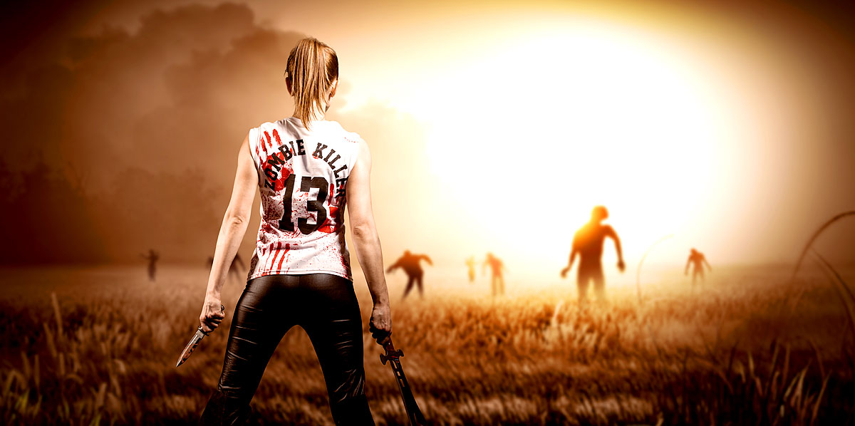 Zombie Weltuntergang