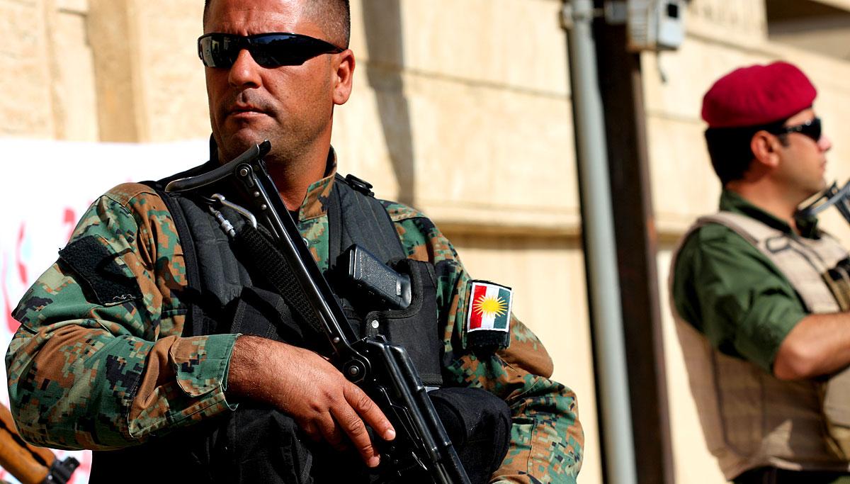 Peschmerga in Erbil