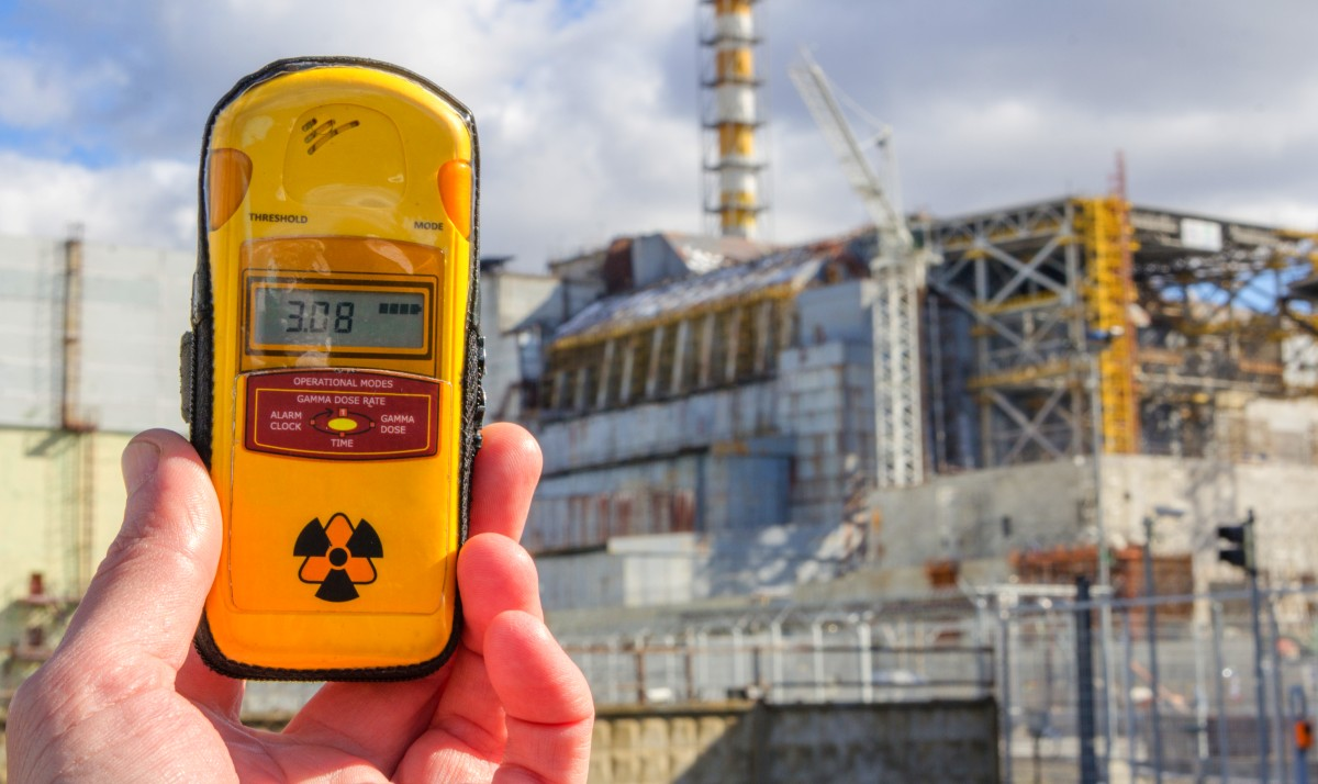 Dosimeter in Tschernobyl