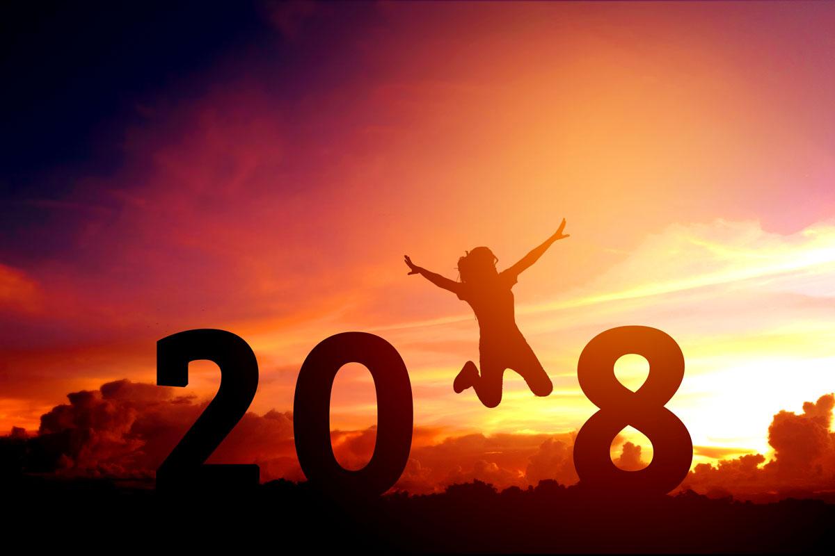 Vorsätze für 2018? Dieses Mal klappt es ganz sicher!