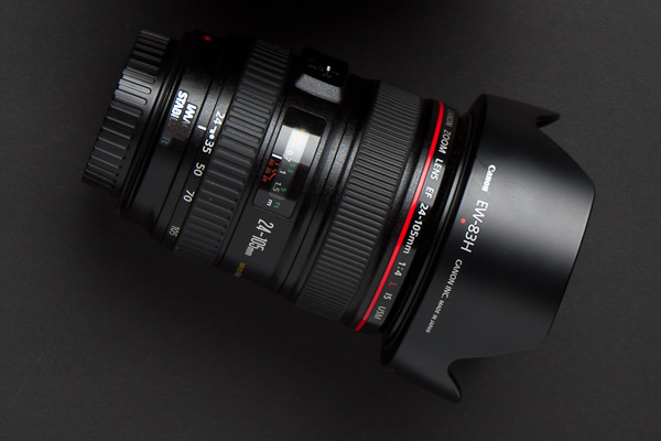 Objektiv mit Ultraschallmotor: Canon EF 24-105mm f/4 L IS USM
