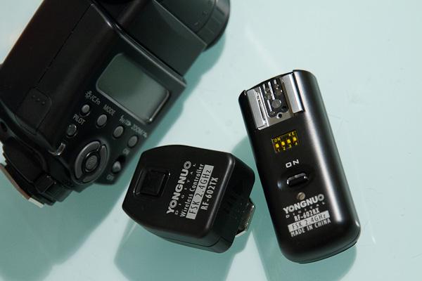 Systemblitz Canon 430EX II mit Yongnuo Funkauslöser