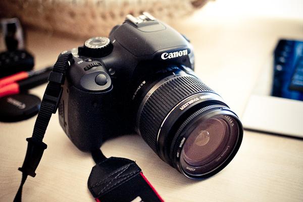 Canon 550D: APS-C Kamera mit einem Crop-Faktor von 1,6