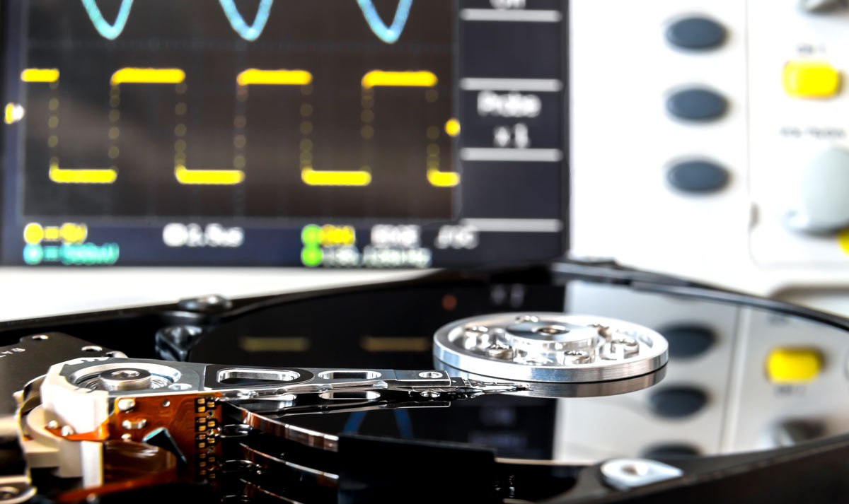 Datenrettung von einer Festplatte
