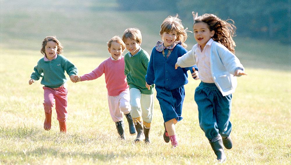 Kinder brauchen Bewegung