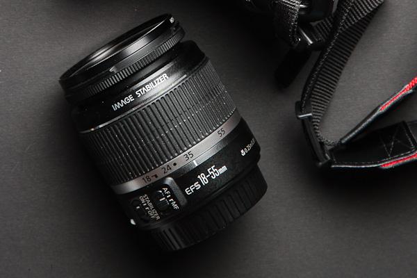 Canon Kitobjektiv mit optischem Bildstabilisator (IS)