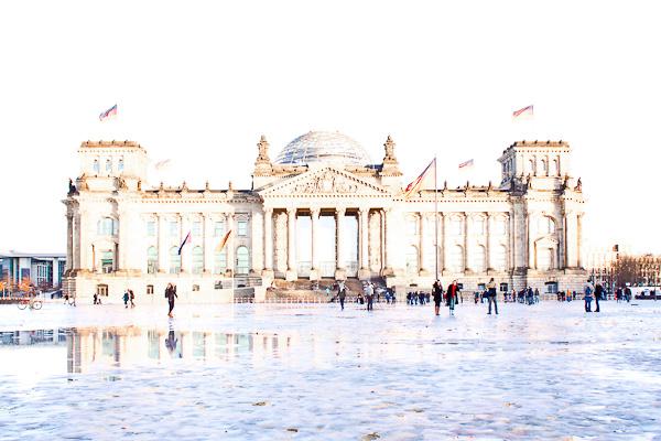 Überbelichtet: Reichtstag, Berlin