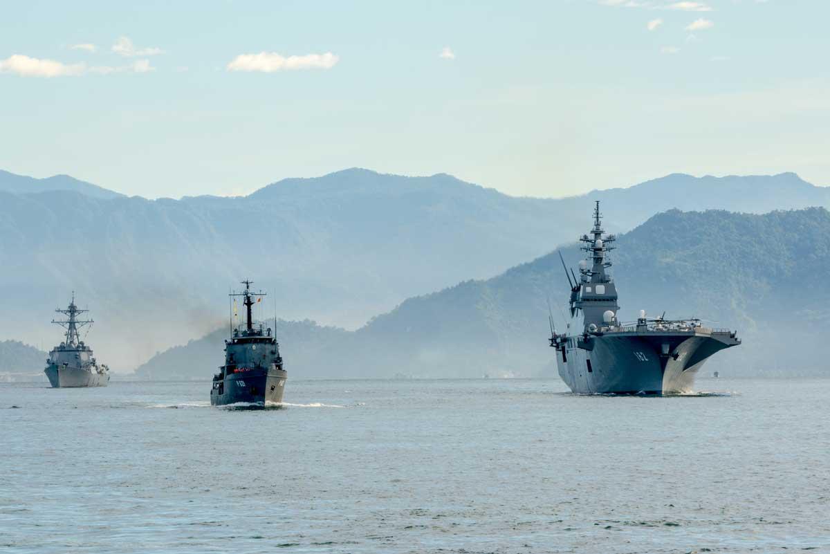 US Kriegsschiffe