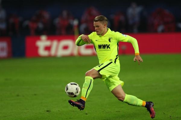 Philipp Max zu FC-Augsburg-Zeiten, über dts Nachrichtenagentur