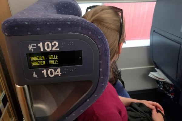 Sitzplatzreservierung bei der Deutschen Bahn, über dts Nachrichtenagentur