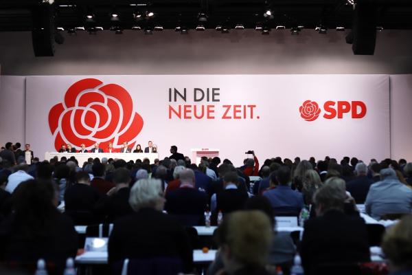 SPD-Parteitag am 6.12.2019, über dts Nachrichtenagentur