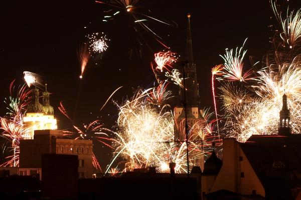 Silvesterfeuerwerk in Halle, über dts Nachrichtenagentur