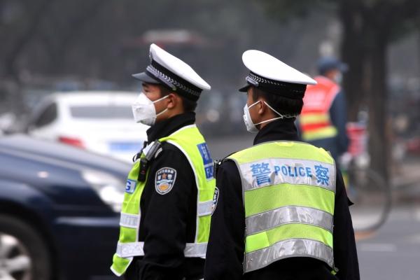 Polizisten in China, über dts Nachrichtenagentur