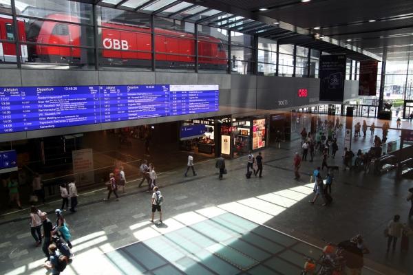 Wiener Hauptbahnhof, über dts Nachrichtenagentur