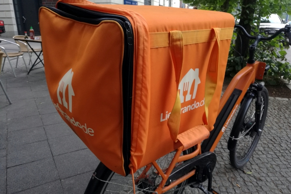 Lieferando-Fahrrad, über dts Nachrichtenagentur