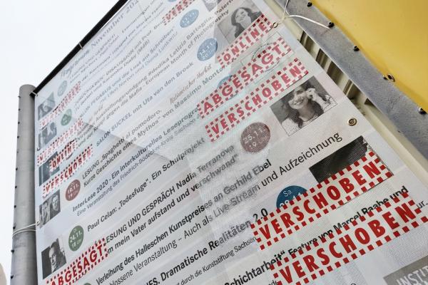 Terminplan mit abgesagten und verschobenen Kulturveranstaltungen, über dts Nachrichtenagentur