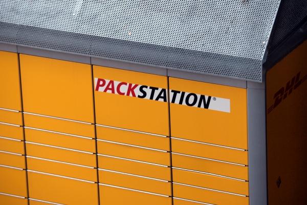 Packstation der Deutschen Post, über dts Nachrichtenagentur