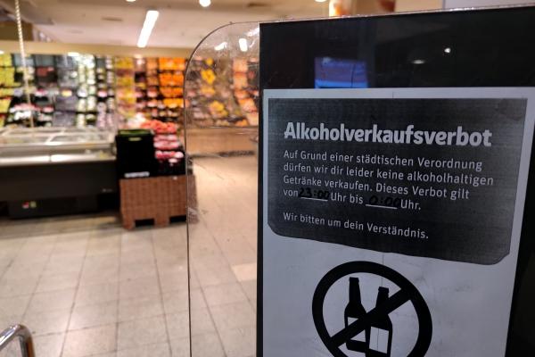 Alkoholverkaufsverbot, über dts Nachrichtenagentur