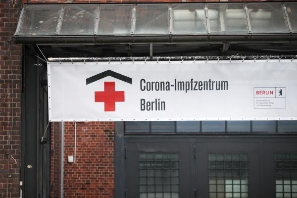 Corona-Impfzentrum, über dts Nachrichtenagentur