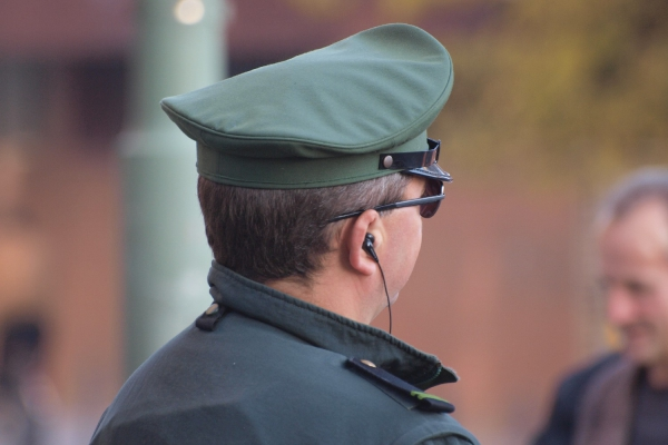 Polizist im Einsatz, über dts Nachrichtenagentur