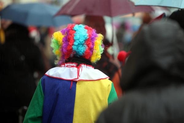 Clown im Straßenkarneval, über dts Nachrichtenagentur