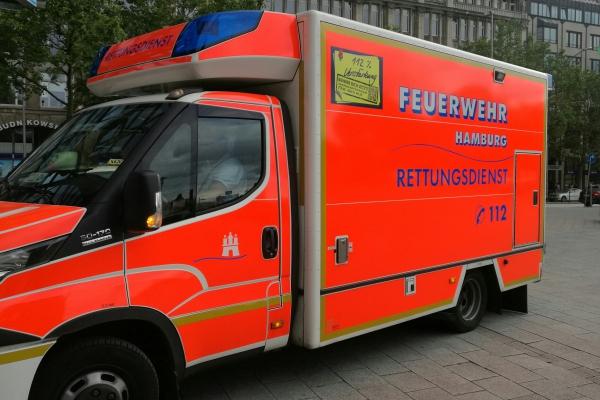 Rettungswagen in Hamburg, über dts Nachrichtenagentur