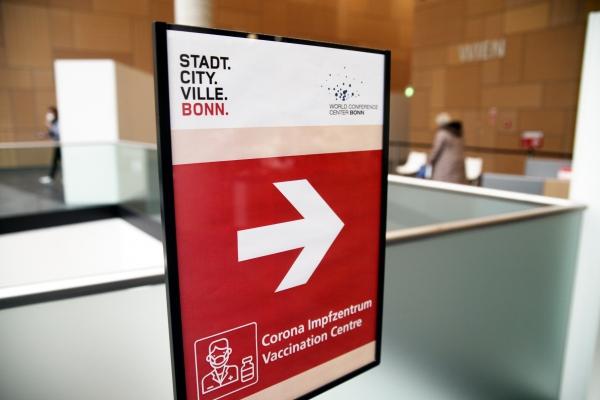 Impfzentrum in Bonn am 08.02.2021, über dts Nachrichtenagentur
