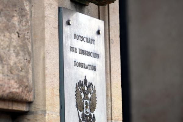 Botschaft von Russland, über dts Nachrichtenagentur