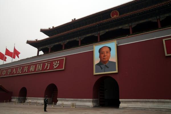 Tor des Himmlischen Friedens mit Bild von Mao Zedong, über dts Nachrichtenagentur