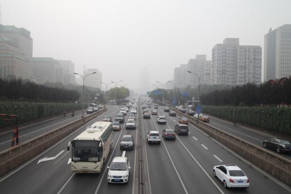 Straßenverkehr in Peking, über dts Nachrichtenagentur