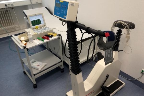 Fahrradergometer für Belastungs-EKG, über dts Nachrichtenagentur
