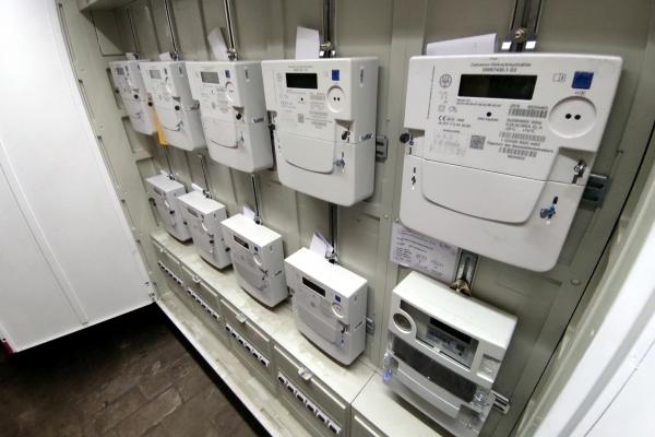 Moderne Stromzähler, über dts Nachrichtenagentur