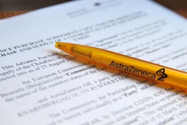 Vertrag zwischen EU und Astrazeneca, über dts Nachrichtenagentur