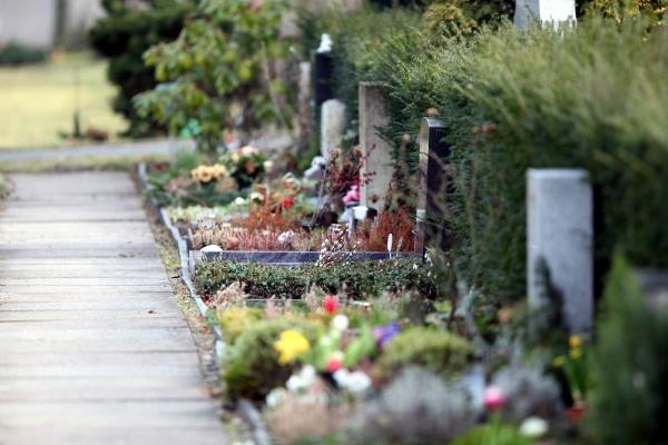 Friedhof, über dts Nachrichtenagentur