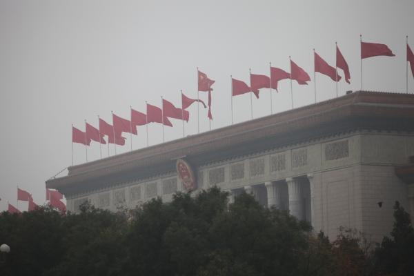 Parlamentsgebäude Große Halle des Volkes in Peking, über dts Nachrichtenagentur