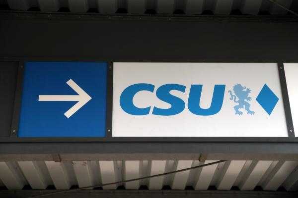 CSU-Logo, über dts Nachrichtenagentur