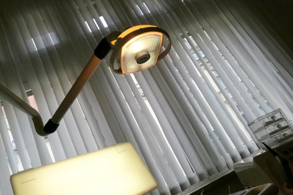 Blick vom Zahnarzt-Patientenstuhl, über dts Nachrichtenagentur