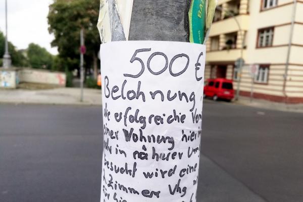 Wohnungssuche, über dts Nachrichtenagentur